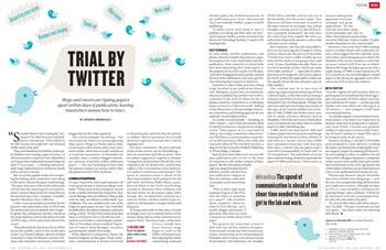 Peer review: Trial by Twitter